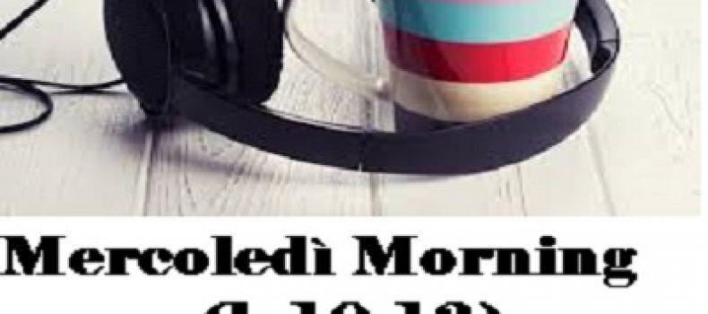 Scaletta MERCOLEDI' MORNING del 23 novembre con Gianluca Polverari