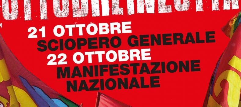 ascolta Pier Paolo Leonardi (esecutivo nazionale Usb) sulla manifestazione di Roma del 21 e 22 ottobre