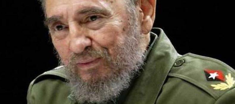 E' morto il Comandante Fidel Castro