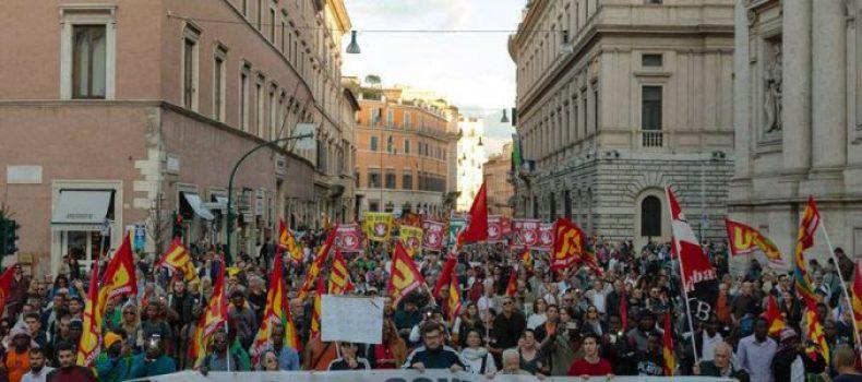 Dopo 21 e 22 ottobre, il No Sociale rilancia la mobilitazione