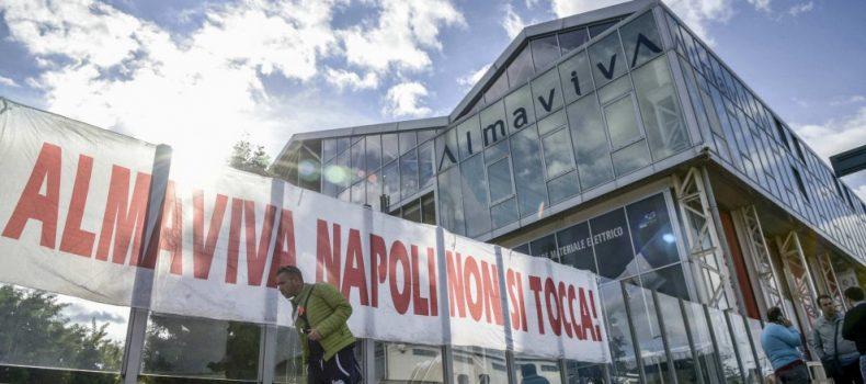 Vertenza Almaviva: accordo raggiunto a Napoli, Roma a rischio chiusura. Intervista ad un lavoratore.