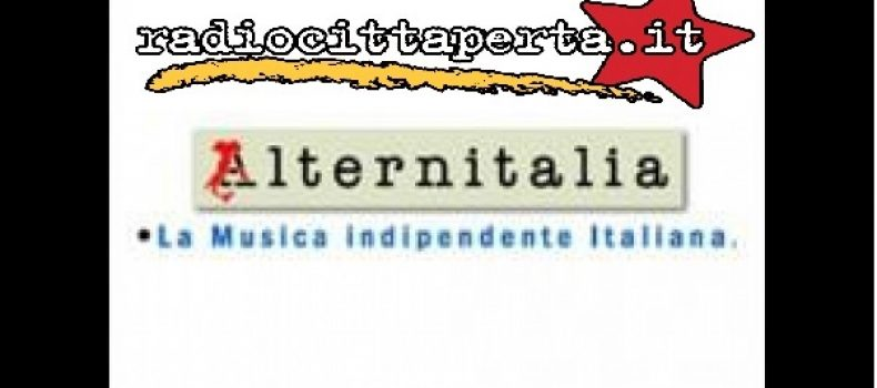 Scaletta e Podcast ALTERNITALIA 13-5-2017