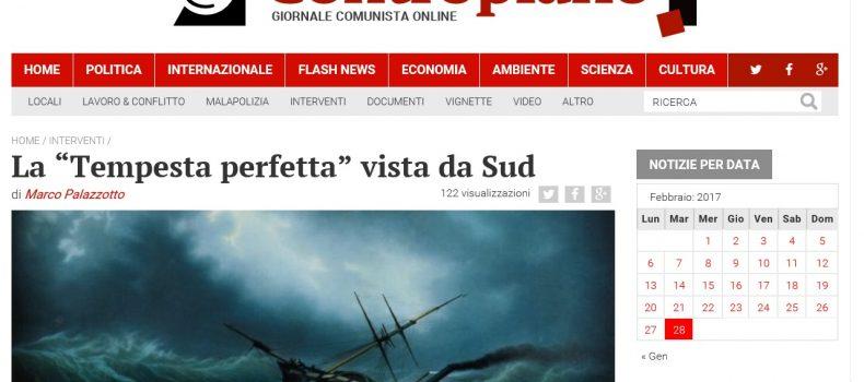 """La """"Tempesta perfetta"""" vista da Sud – Contropiano"""