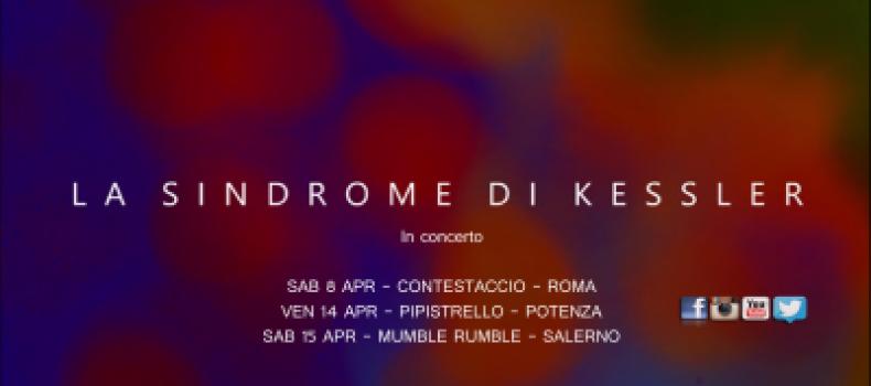 In uscita nuovo singolo de La Sindrome di Kessler – l'intervista di Marco Bosco 14.03.2017