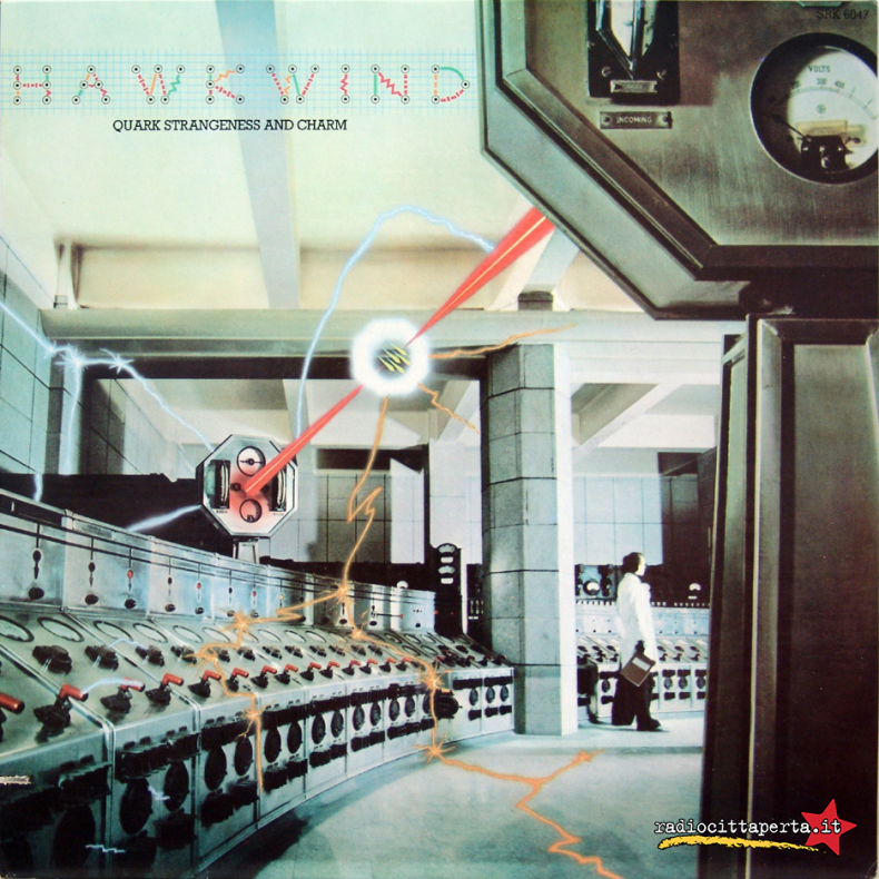 Scaletta e podcast 18º episodio DOWNSIDE UP – Hawkwind – 'Quark, Strangeness and Charm'