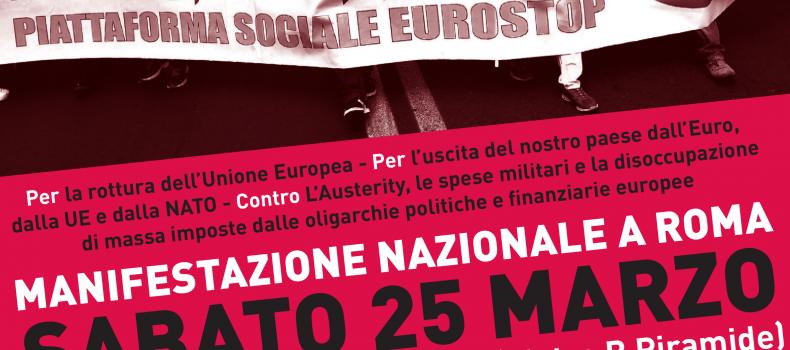 Gli obiettivi di Eurostop – Intervista al prof. Luciano Vasapollo