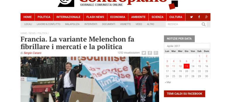 Francia. La variante Melenchon fa fibrillare i mercati e la politica – Contropiano