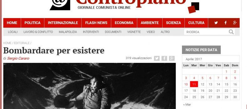 Bombardare per esistere – L'editoriale di Contropiano