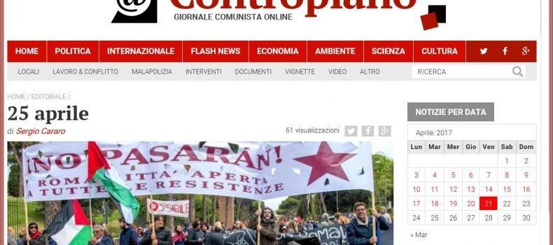 25 aprile – L'editoriale di Contropiano