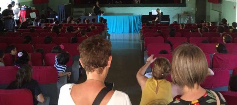 Milano – Genitori occupano teatro contro burocrazia del Municipio e vigili urbani