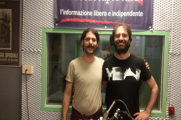 Intervista e live set Carlo Barbagallo 15-5-2017