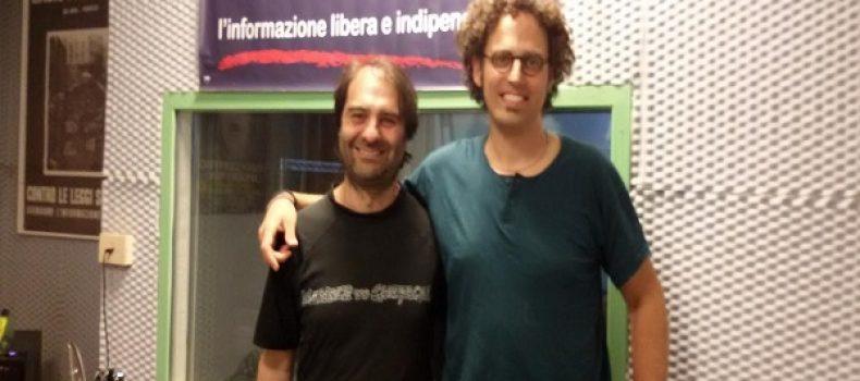 Intervista e live set a Rca Giacomo Lariccia 22-5-2017