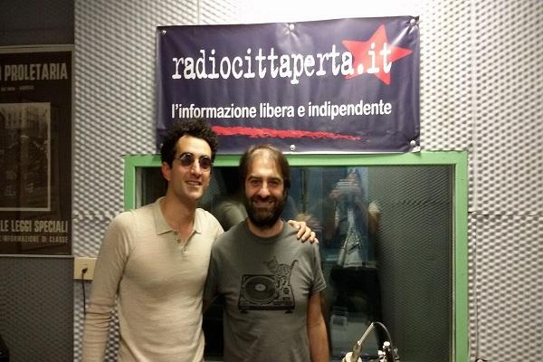 Intervista e live set a Rca de Lo Yeti 12-5-2017