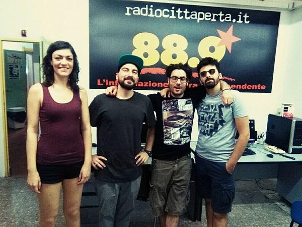 Intervista e live set Steppin' HOT Band 16 giugno 2017