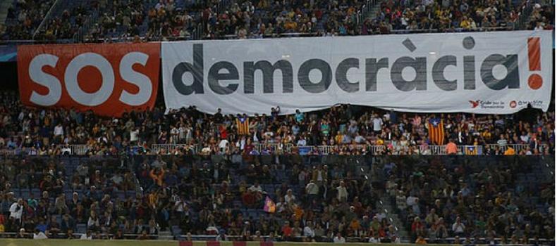 Catalogna: anche il Barcellona, la squadra simbolo dell'identità catalana, prende posizione