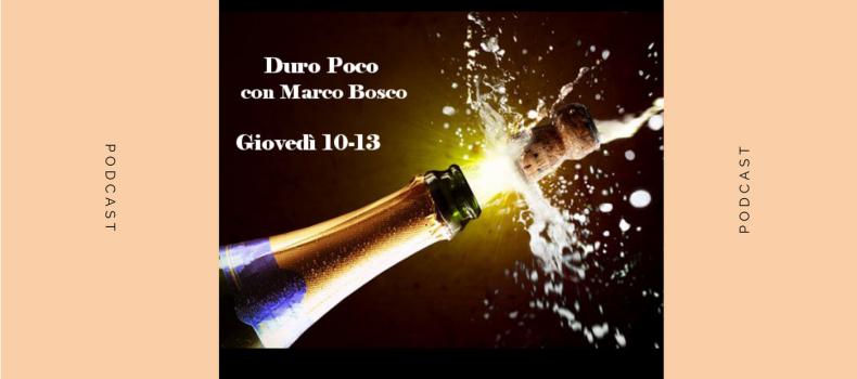 Scaletta e podcast Duro Poco 12.10.2017