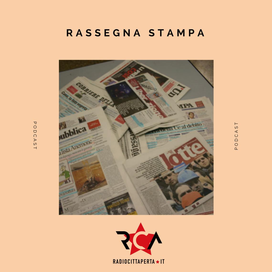 RASSEGNA STAMPA del 03-02-2018