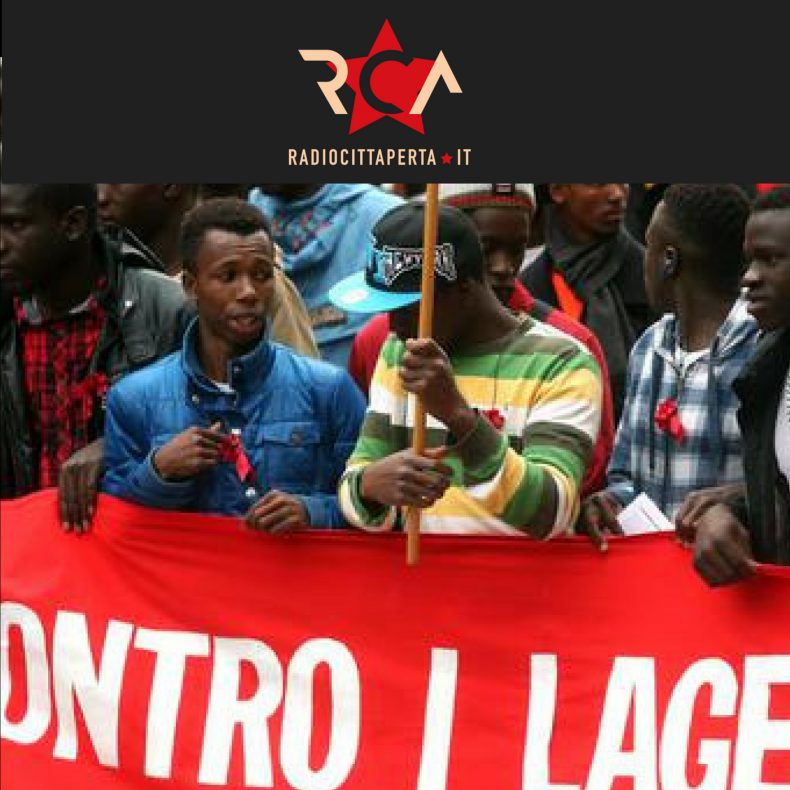 Cona, la protesta dei migranti: la marcia prosegue, indietro non si torna