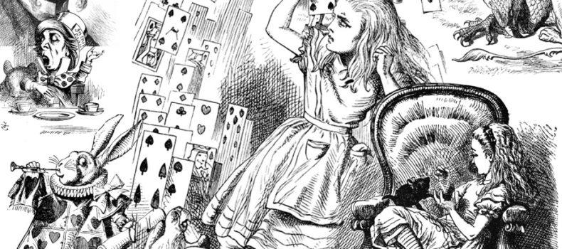 Alice nel Paese delle Meraviglie e le sue influenze su alcuni brani e videoclip musicali.