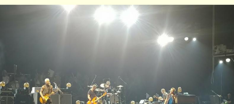 Libere Considerazioni su Pearl Jam @Stadio Olimpico Roma 26 Giugno 2018