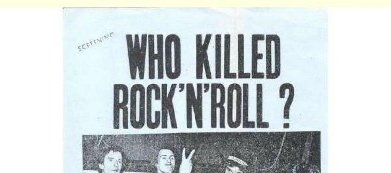 """Playlist e Podcast di """"Quando c'era lui (il rock)"""" dell'11/6/2018"""