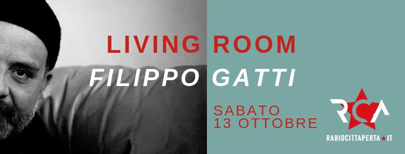 Filippo Gatti living room a Radio città aperta