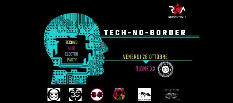 Rca presenta TECH-NO-BORDER Techno Acid Electro Party