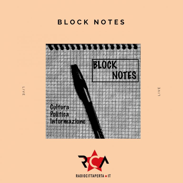 BLOCK NOTES con ALESSIO RAMACCIONI