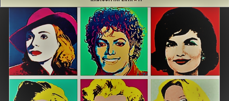 Andy Warhol in mostra a Roma dal 3 ottobre 2018 al Complesso del Vittoriano.