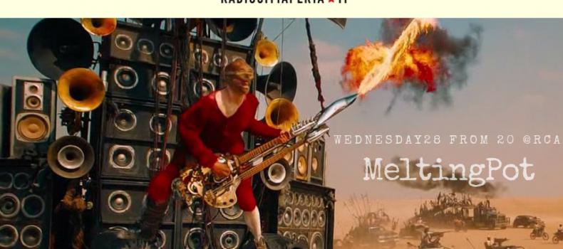 Scaletta e podcast della puntata di MeltingPot di mercoledì 28 novembre