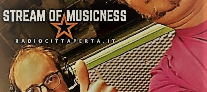 Stream of Musicness con Giovanni Gentilucci + Valeria Cao di A-FNK e The Mexican Guy.