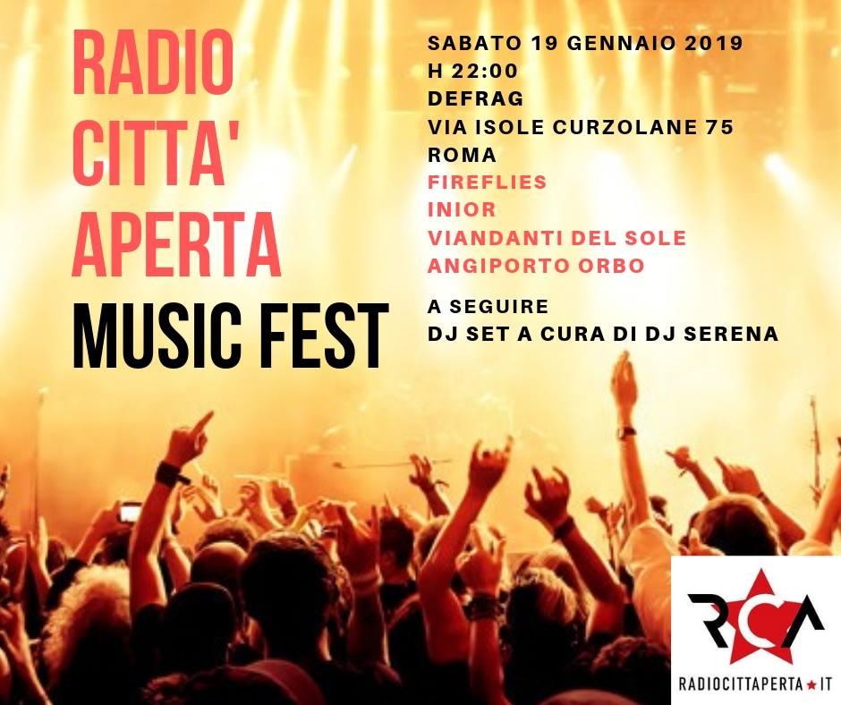 Radio Citta Aperta Music Fest