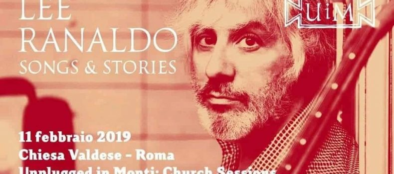 "Lee Ranaldo ""Songs & Stories"" Unplugged in Monti:Church Session"