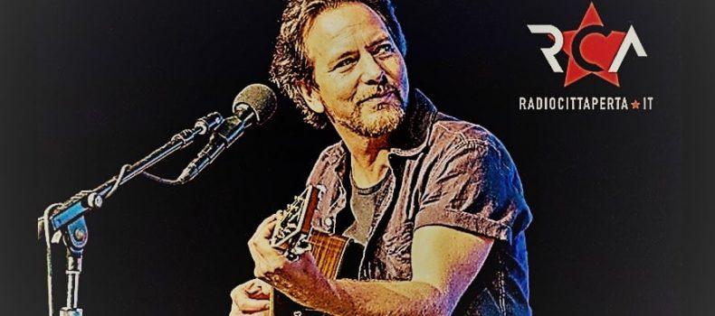 Eddie Vedder, frontman dei Pearl Jam, in Italia a giugno con due concerti
