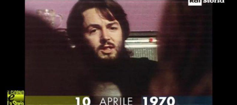 10 aprile 1970 – Paul Mc Cartney annuncia lo scioglimento dei Beatles