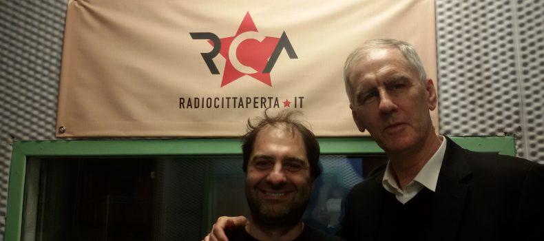 Intervista e live set Robert Forster 24-4-2019