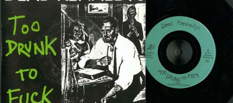 """29 maggio 1980: esce il singolo """"Too Drunk To Fuck"""" dei Dead Kennedys"""