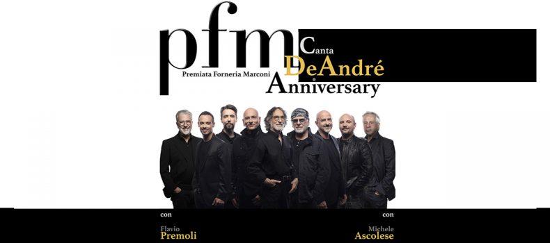 La Premiata Forneria Marconi canta De André domani sera al Brancaccio