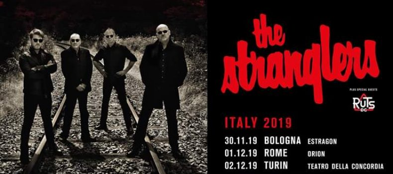 The Stranglers e The Ruts in autunno in Italia con 3 date!