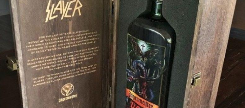 Jägermeisterha dedicato una bottiglia del suo amaro agliSlayer