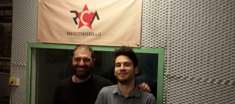Intervista e live set a Rca True Sleeper 8-5-2019