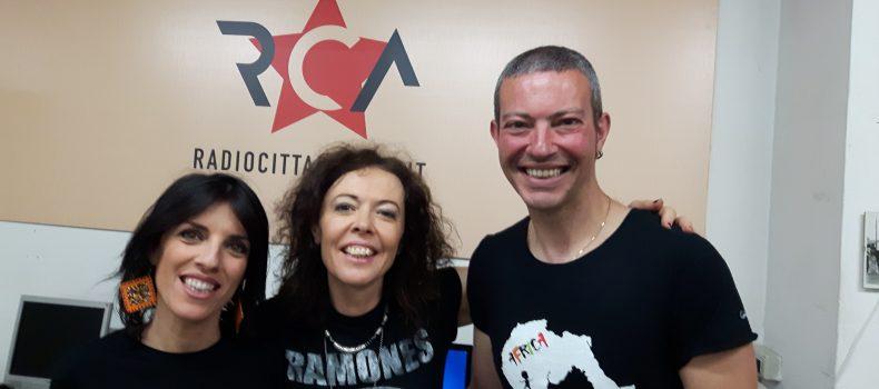 Intervista e minilive Carla Cocco – Africa Sarda 6-6-2019