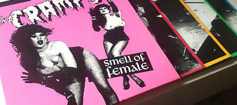 "THE CRAMPS – il vinyl box set ""Smell Of Female"""