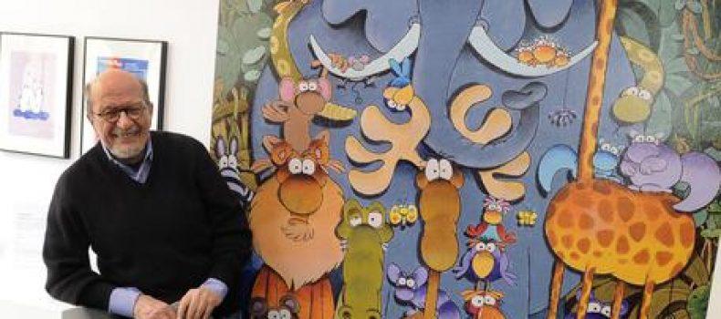 Addio Mordillo, grande fumettista argentino con la passione per gli animali e lo sport