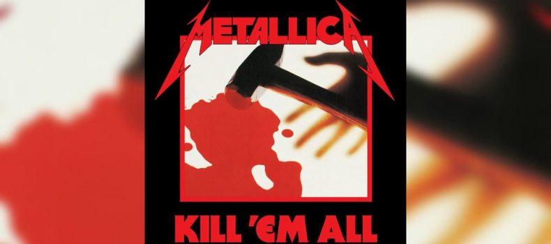 """Kill 'Em All"", l'album d'esordio dei Metallica, compie 36 anni"