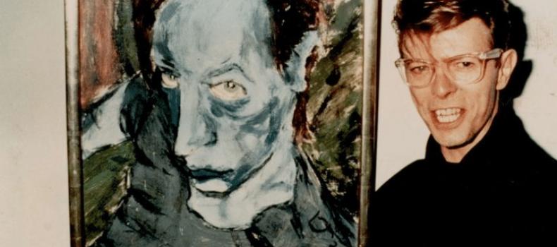 David Bowie in versione pittore