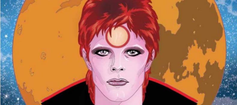 La biografia a fumetti di David Bowie realizzata da Michael Allred