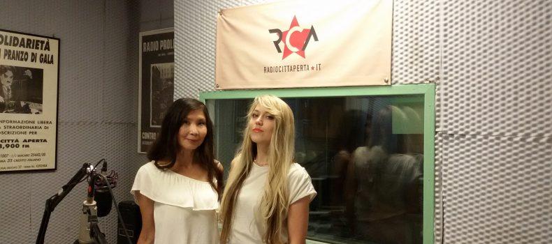 Intervista Angelina Yershova e Saltanat Tashimova 1-7-2019