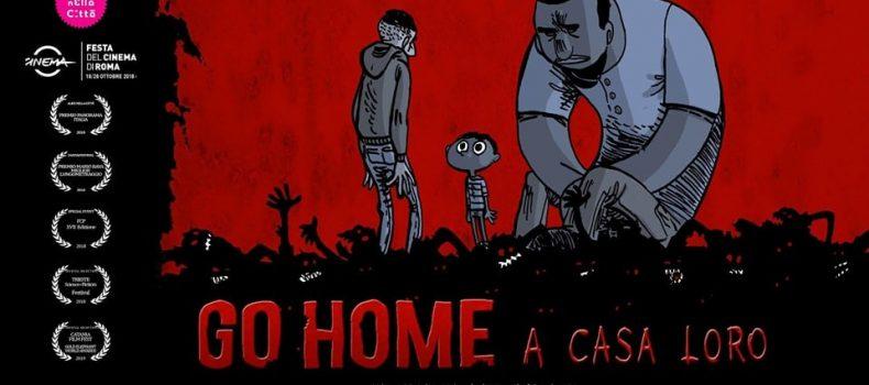 """""""Go Home – A casa loro"""", lo zombie movie anti-razzista arriva allo Strike S.P.A."""
