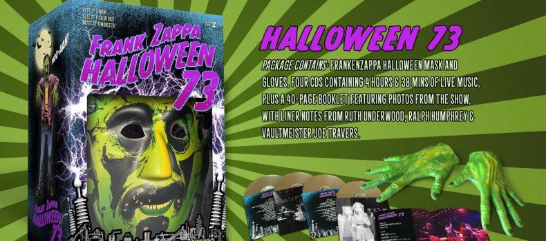 """Frank Zappa: """"Halloween 73"""" uscirà con un cofanetto il 25 ottobre"""